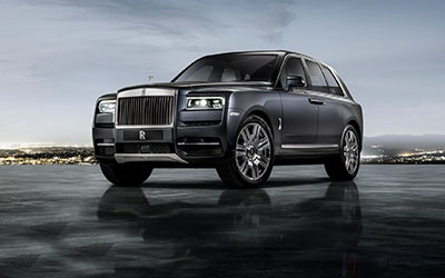 New Rolls-Royce Cars at Grange