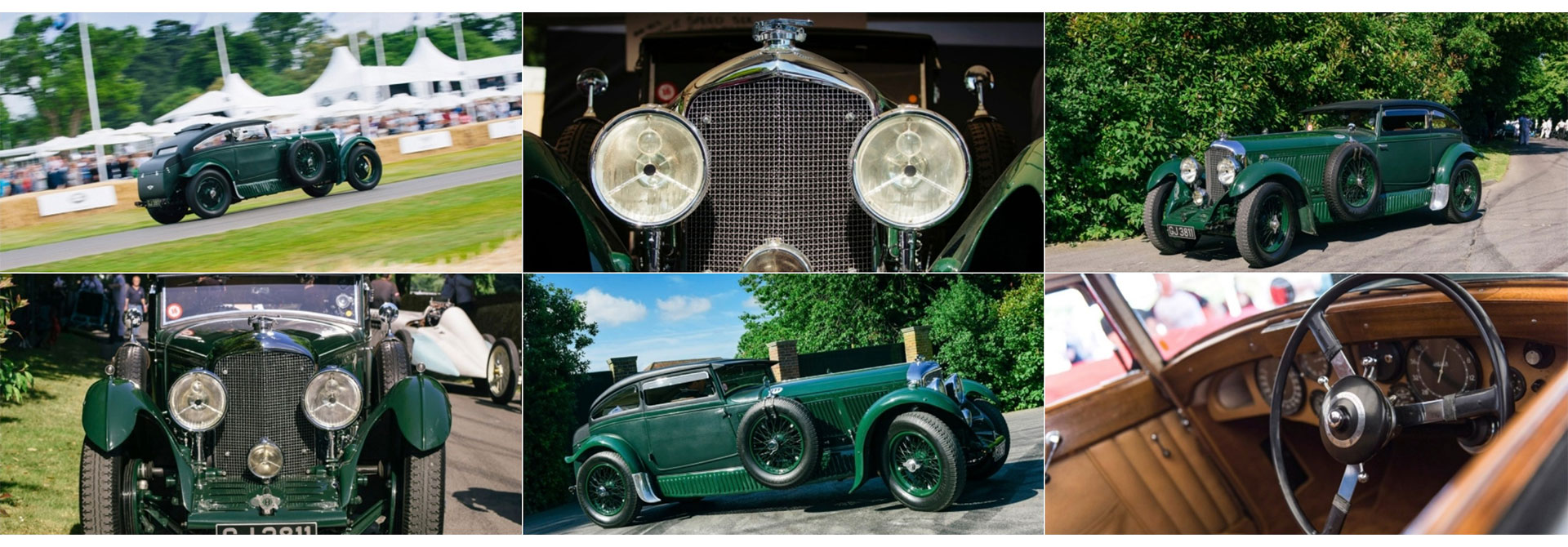 The Bentley 'Blue Train' - Bentley Legacy Cars