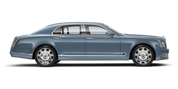Bentley Mulsanne at Grange