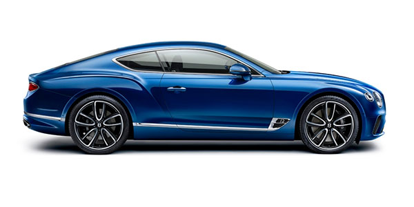 New Bentley Continental GT at Grange