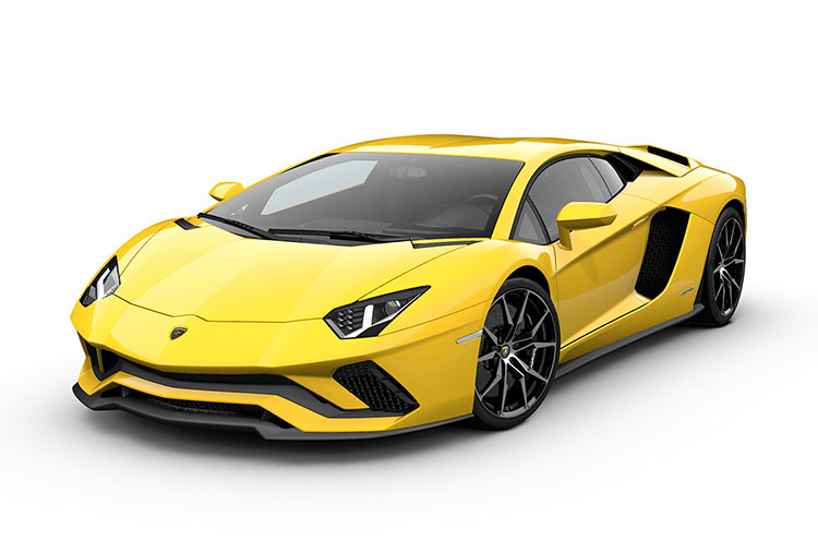 New Lamborghini Aventador S Coupé at Grange