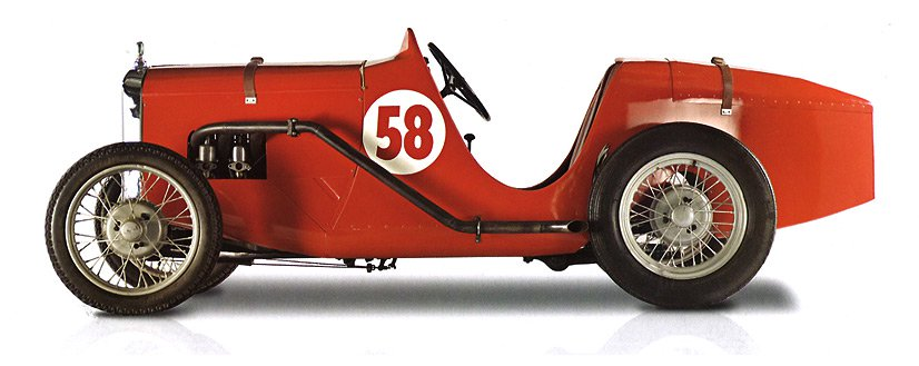 The Austin Ulster 1929 - McLaren Legacy Cars