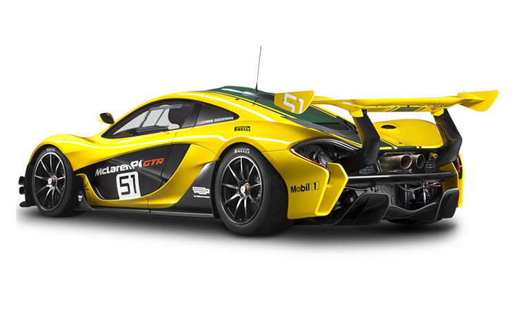 McLaren P1 GTR Ultimate Series