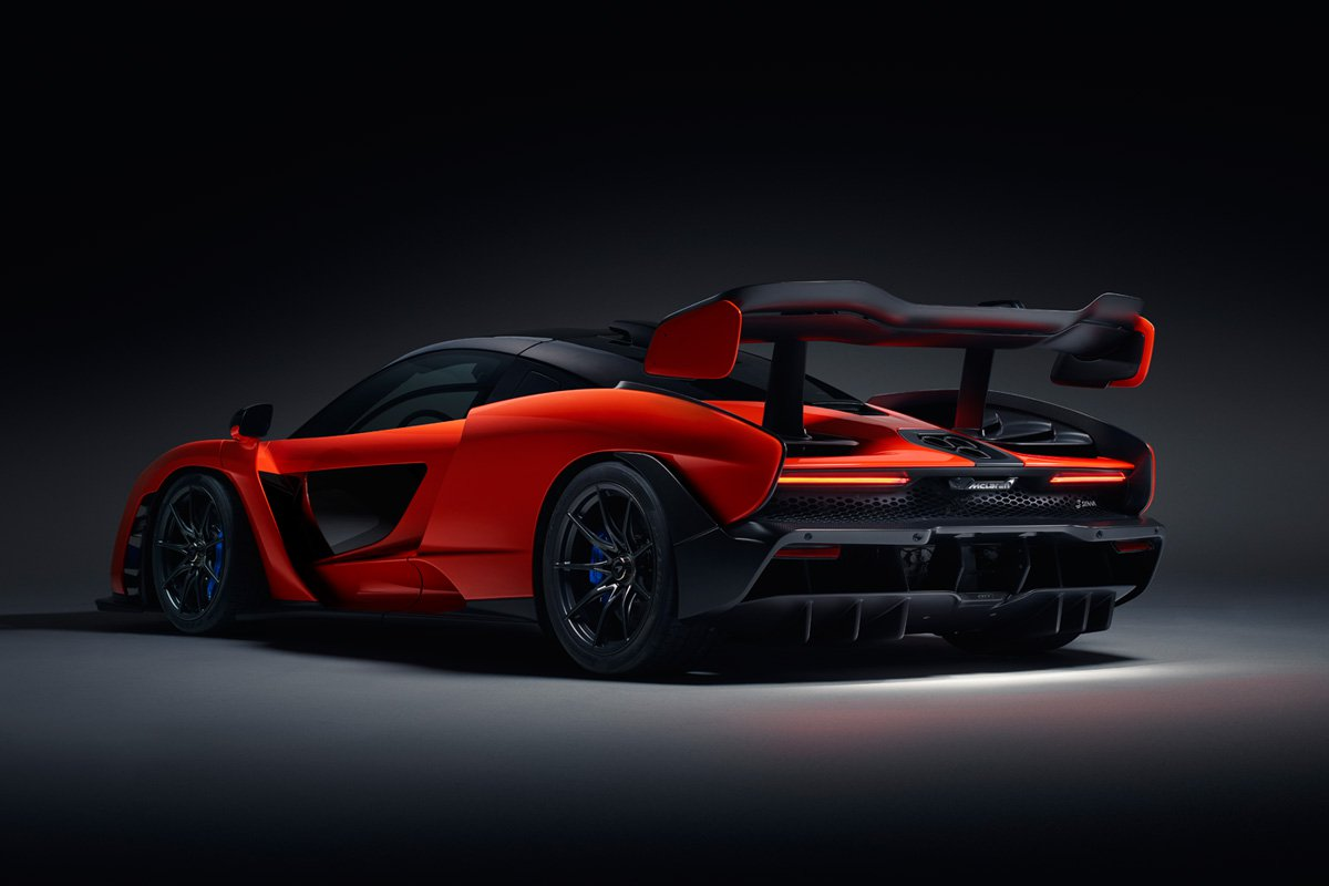 McLaren Senna Performance